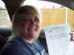 Passed. Kita Morgan of Gloucester passed with Mike Williams Driving School
