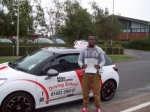Passed. Lusupi Melele of Gloucester passed with Mike Williams Driving School