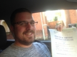 Passed. Martin Brookes of Gloucester passed with Mike Williams Driving School