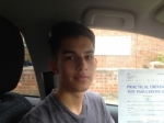 Matt Bartman in Gloucester passed with Mike Williams Driving School