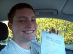 Passed. Michael Blair of Gloucester passed with Mike Williams Driving School