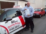 Passed. Michael Faulkner of Gloucester passed with Mike Williams Driving School