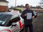 Passed. Michael Waldron of Gloucester passed with Mike Williams Driving School