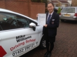Natalie Yip of Gloucester passed with Mike Williams Driving School