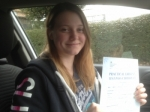 Passed. Niamh Smith of Gloucester passed with Mike Williams Driving School