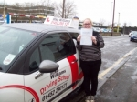 Passed. Poppy Richards of Gloucester passed with Mike Williams Driving School