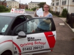Passed. Sam Bevis of Gloucester passed with Mike Williams Driving School