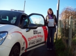 Passed. Sharon Stott of Gloucester passed with Mike Williams Driving School