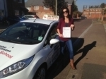 Passed. Sian Burrin of Gloucester passed with Mike Williams Driving School