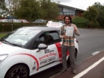 Passed. Sikander Khan of Gloucester passed with Mike Williams Driving School
