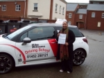Passed. Tammy Mahoney of Gloucester passed with Mike Williams Driving School