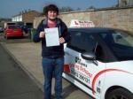 Passed. Tom Gennaio of Gloucester passed with Mike Williams Driving School