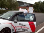 Passed. Tyler D´Andrea of Gloucester passed with Mike Williams Driving School