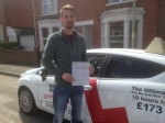 Passed. Zach Evans of Gloucester passed with Mike Williams Driving School