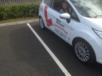 Julia Yip of Gloucester passed with Mike Williams Driving School