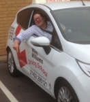Jackie Korba of Gloucester passed with Mike Williams Driving School