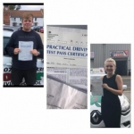 3 more passers passed with Clover School of Motoring