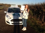 Emily passed with Clover School of Motoring