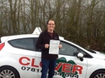Jack passed with Clover School of Motoring