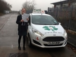 Lizzi passed with Clover School of Motoring