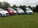 Our cars passed with Clover School of Motoring