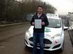 Rob passed 06/01/2017 passed with Clover School of Motoring