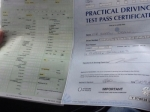 Clear sheet passed with Clover School of Motoring