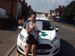 Katie passed with Clover School of Motoring