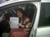 Kayleigh passed passed with Clover School of Motoring