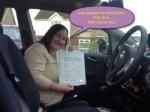 Sonia passed with Clover School of Motoring