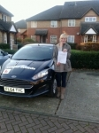 Agnieszka passed with Clear Roads