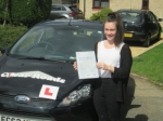 Amy passed with Clear Roads