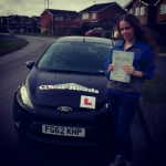 Anastasjia passed with Clear Roads