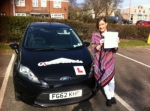 Annabelle passed with Clear Roads