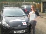 Ashleigh passed with Clear Roads