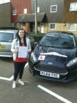 Bernadette passed with Clear Roads