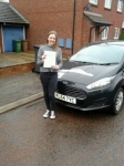 Emily passed with Clear Roads