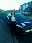 Isobel passed with Clear Roads