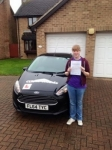 Sophie passed with Clear Roads