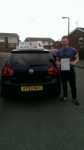 Peter Morris passed with Craig Polles Driver Training