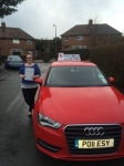 Kerry Moston passed with Craig Polles Driver Training