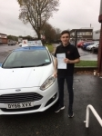 Aaron Bates passed with Craig Polles Driver Training
