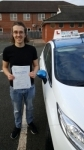 Aaron Kent passed with Craig Polles Driver Training