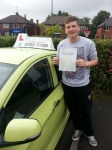 Aarron passed with Craig Polles Driver Training