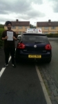Abdus passed with Craig Polles Driver Training