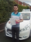 Adam Coates passed with Craig Polles Driver Training