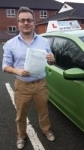 Adam Duell passed with Craig Polles Driver Training