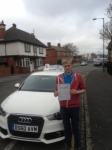 Adam Mellor passed with Craig Polles Driver Training