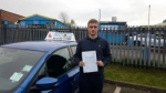 Aden Mold passed with Craig Polles Driver Training