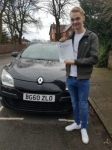 Aidan Morley passed with Craig Polles Driver Training